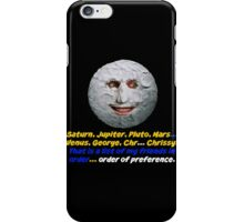 The Moon, The Mighty Boosh, Quote iPhone Case/Skin
