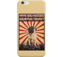 Propaganda Pug iPhone Case/Skin