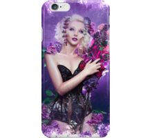 Floral Depiction  iPhone Case/Skin