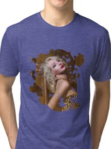 Pussy Loves Crème  Tri-blend T-Shirt