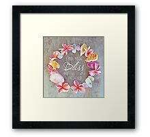 Find Your Bliss Framed Print