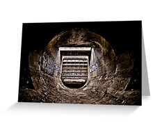 Wormhole - Vision One Greeting Card