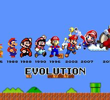 The Evolution of Mario by BowserBasher
