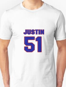 National Hockey player Justin Hocking jersey 51 T-Shirt