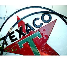 Texaco Star Photographic Print