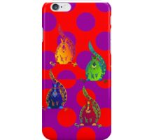 Curly Sam repetition iPhone Case/Skin