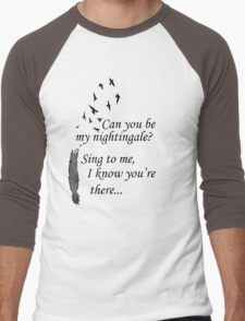 My Nightingale Men's Baseball ¾ T-Shirt