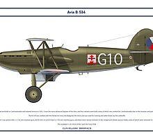 Avia B-534 Czech 5 by Claveworks