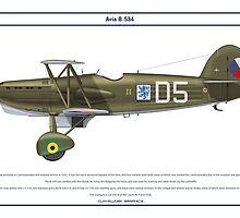 Avia B-534 Czech 6 by Claveworks