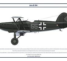 Avia B-534 Germany 1 by Claveworks
