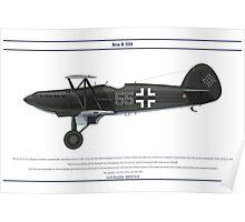 Avia B-534 Germany 1 Poster