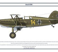 Avia B-534 Germany 3 by Claveworks