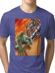 EPIC BATTLE! Tri-blend T-Shirt