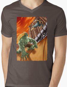 EPIC BATTLE! Mens V-Neck T-Shirt