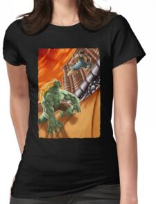EPIC BATTLE! Womens Fitted T-Shirt