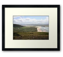 Donegal countryside, donegal Framed Print