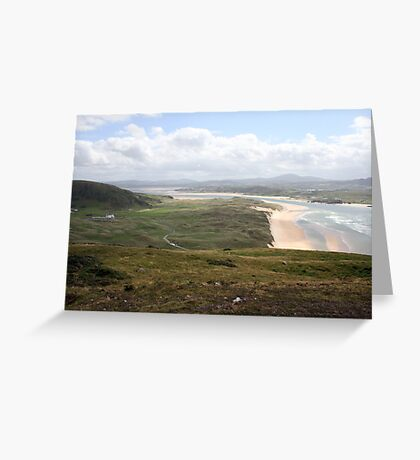 Donegal countryside, donegal Greeting Card