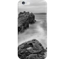 Ballycastle - Pans Rock to Rathlin Island iPhone Case/Skin