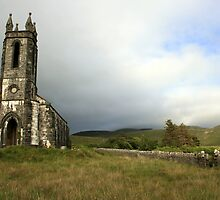 Dunlewey church 3 by John Quinn