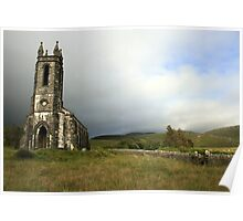 Dunlewey church 3 Poster