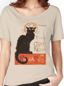 Tournee Du Chat Noir - After Steinlein Women's Relaxed Fit T-Shirt