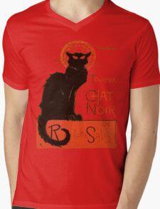 Tournee Du Chat Noir - After Steinlein Mens V-Neck T-Shirt