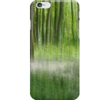 If you go down to the woods today - Textured iPhone Case/Skin