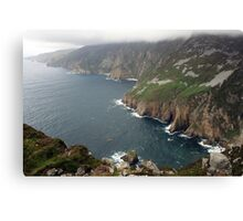 Slieve League cliffs Canvas Print