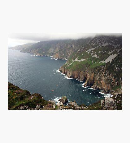 Slieve League cliffs Photographic Print