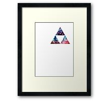 Triforce Nebula Framed Print