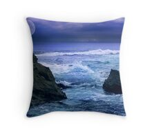 Edge of my world... Throw Pillow