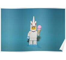 Cute Little Unicorn Poster