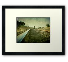 The Main North Line, Uralla, New South Wales Framed Print