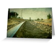 The Main North Line, Uralla, New South Wales Greeting Card