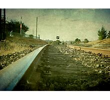 The Main North Line, Uralla, New South Wales Photographic Print
