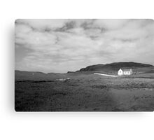 Scenic Donegal church in black and white Metal Print