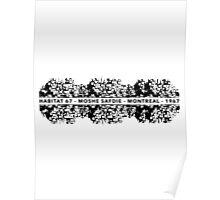 Habitat 67 Moshe Safdie Architecture T-shirt Poster