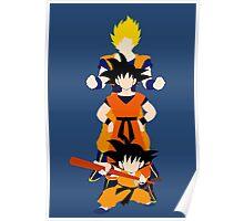 Dragonball Z History of Goku  Poster