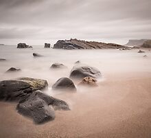 Ballycastle - Pans Rocks by Nigel R Bell