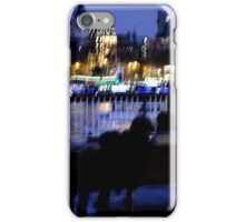 Bench, Lights, Lovers iPhone Case/Skin