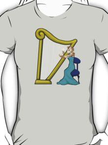 Cat Harp T-Shirt