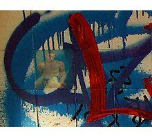 Rozelle Graffiti wall stories series No 1 Photographic Print