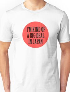Big in Japan China Funny Cool Music Rock Pop Unisex T-Shirt