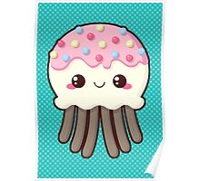 Candy Covered Jellyfish Poster
