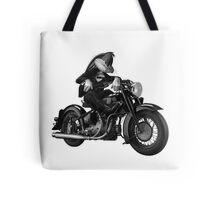 Biker Bugs Bunny Tote Bag