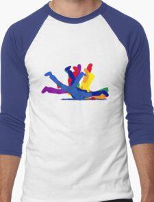 BreakDance Men's Baseball ¾ T-Shirt