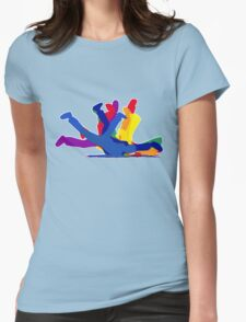 BreakDance Womens Fitted T-Shirt
