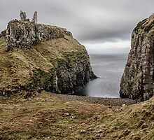 Dunseverick Castle by Nigel R Bell