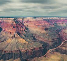 Aerial view of Grand Canyon by Nelson Mineiro