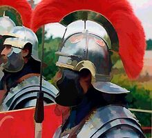 Roman Soldiers by Peter Sandilands